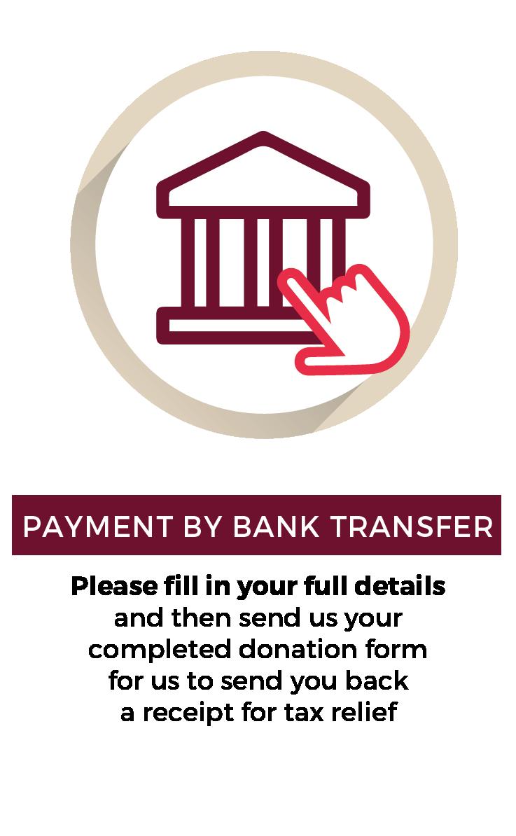 Faire un don par virement bancaire